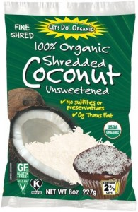 Let&#039;s Do Organic Shredded Unsweetened Coconut